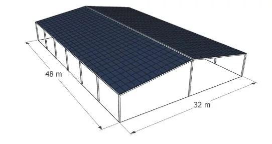 couverture terrain de boules solaire