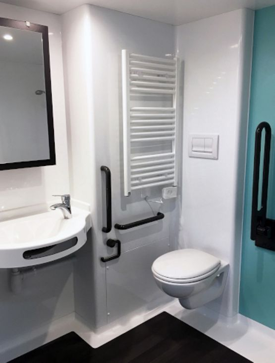 Stickers salle de bains: portes - stickers muraux salle de