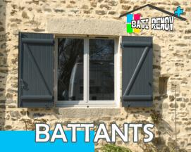 Volets battants Décines-Charpieu, Meyzieu, Villeurbanne (69), Rhône, Ain (01), Isère (38)