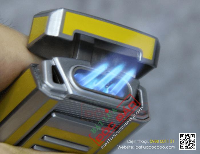 Bật lửa khò hút Cigar (xì gà) chính hãng Cohiba loại 3 tia lửa cực mạnh - Mã SP: BLH042