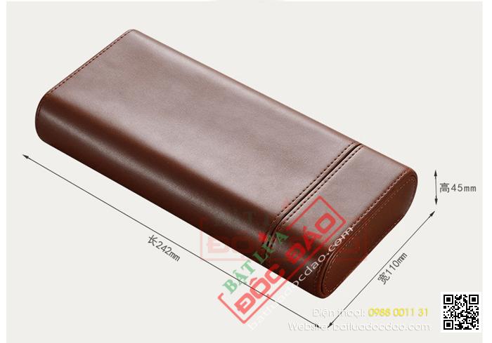 Bao da Cigar Cohiba chính hãng loại 3 điếu - Mã SP: 308B
