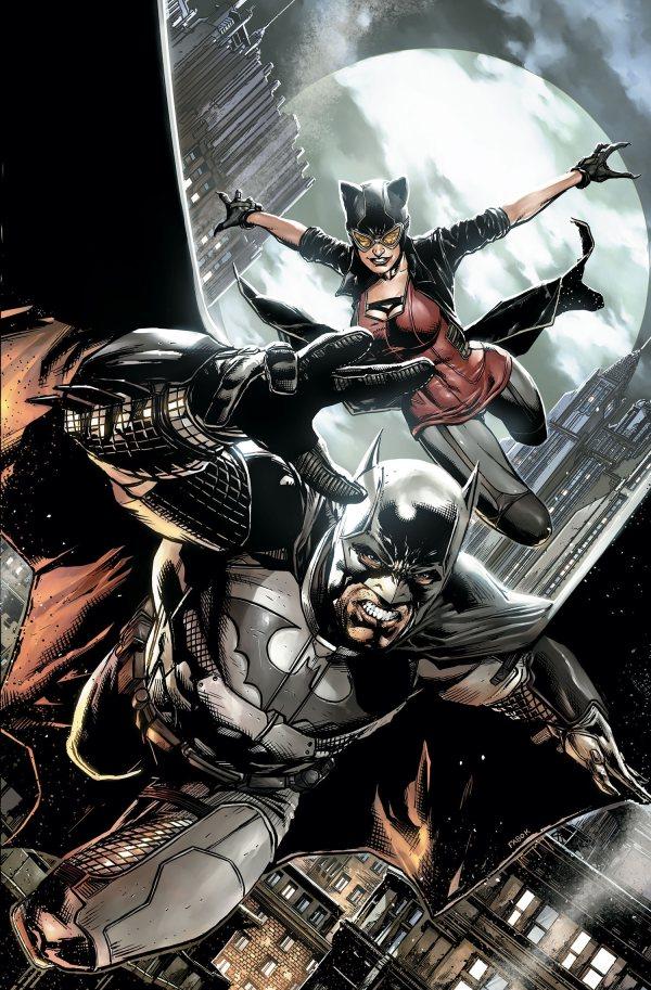 Detective Comics Batman and Catwoman