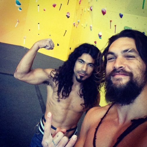 Gal Gadot And Jason Momoa Working Out Together For 'Batman