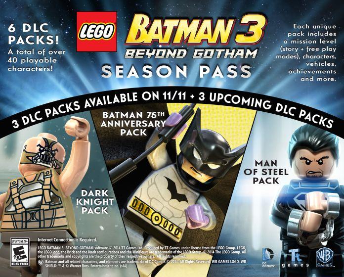 Play As Christopher Nolan S Dark Knight Trilogy Characters In Lego Batman 3 Beyond Gotham Batman News