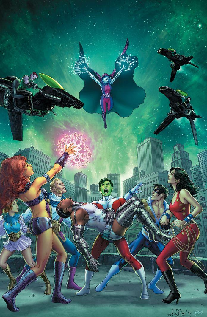 Convergence New Teen Titans 2