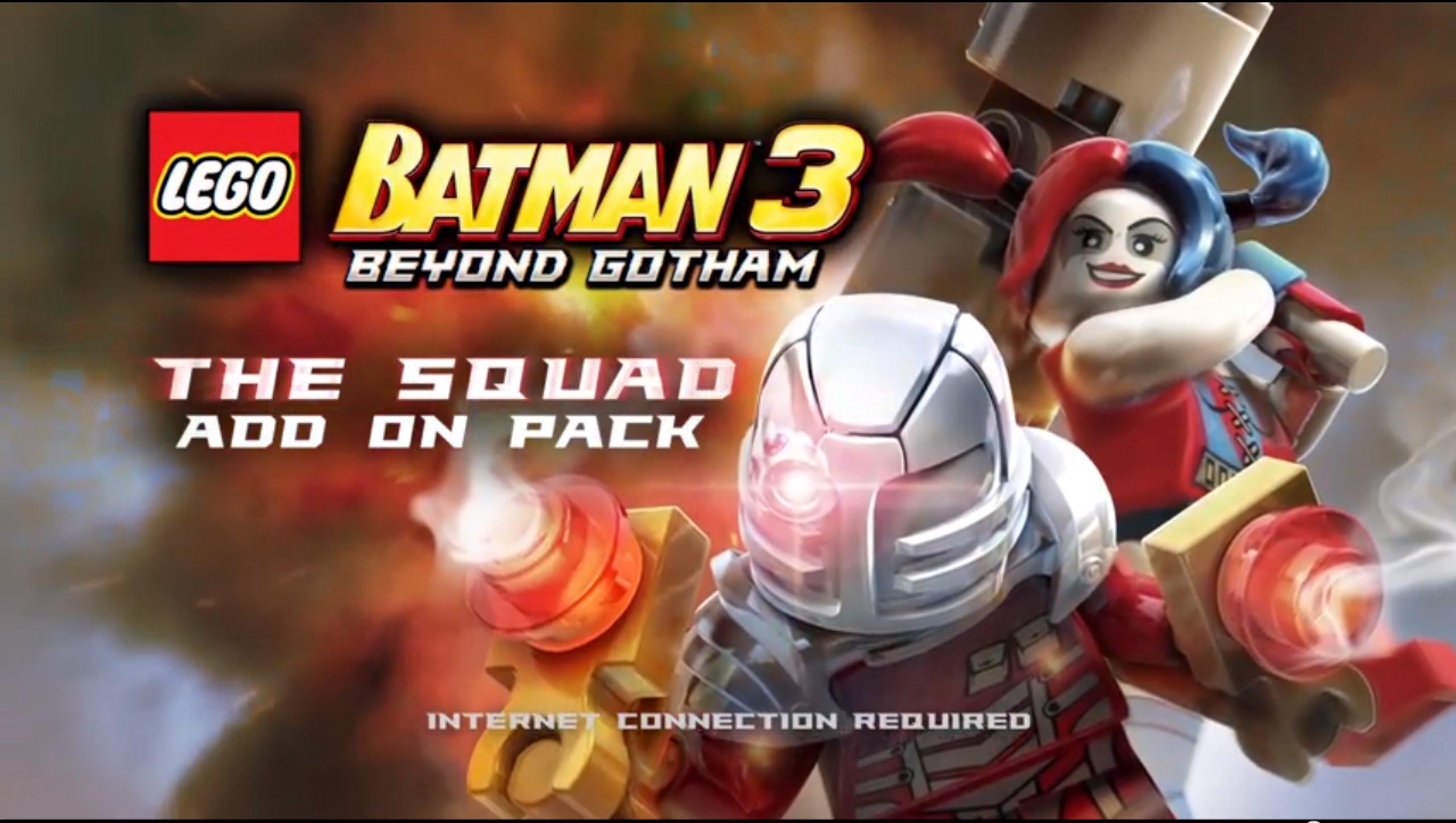 Suicide Squad DLC pack now available for 'LEGO Batman 3