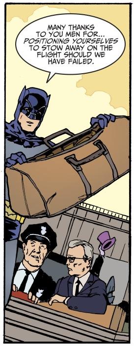 Holy passive-aggressive burn, Batman!