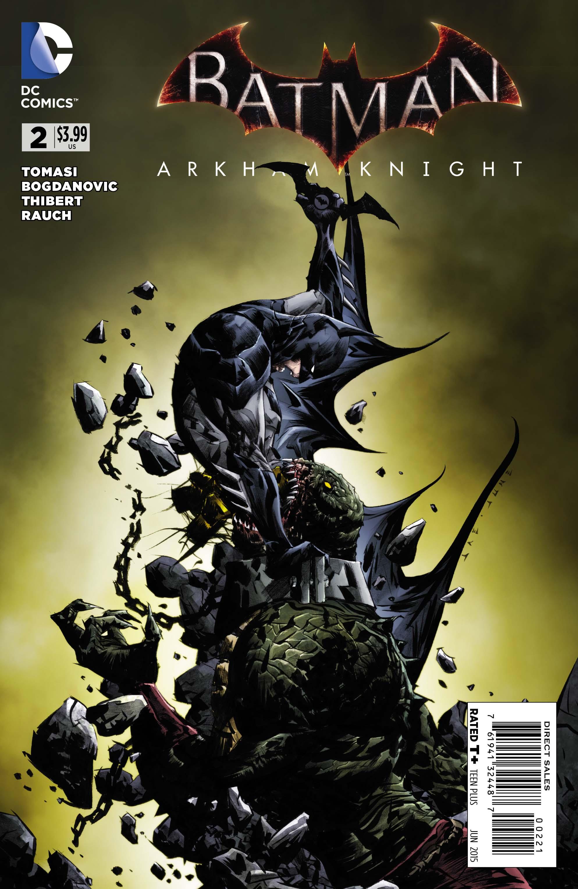 Exclusive Preview Batman Arkham Knight 2 Batman News