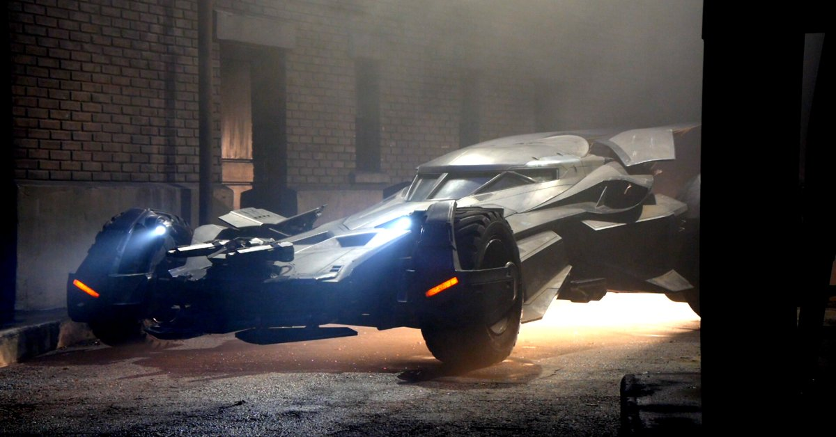 Batman V Superman Production Designer Talks New Batmobile - Brand new batmobile revealed awesome