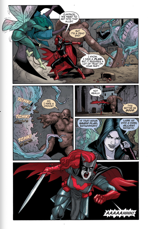 ... And now she's Medieval Armor Batwoman...