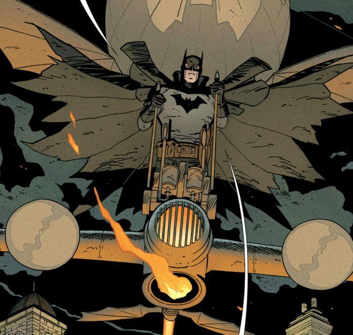 Batman means business