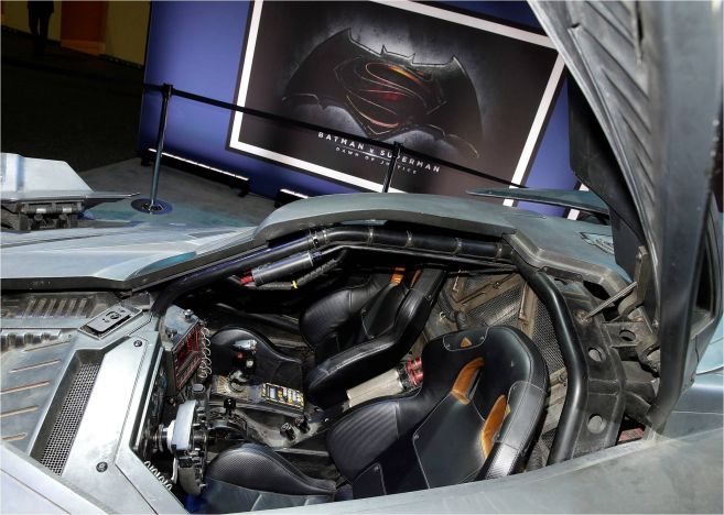 Batmobile Interior 2