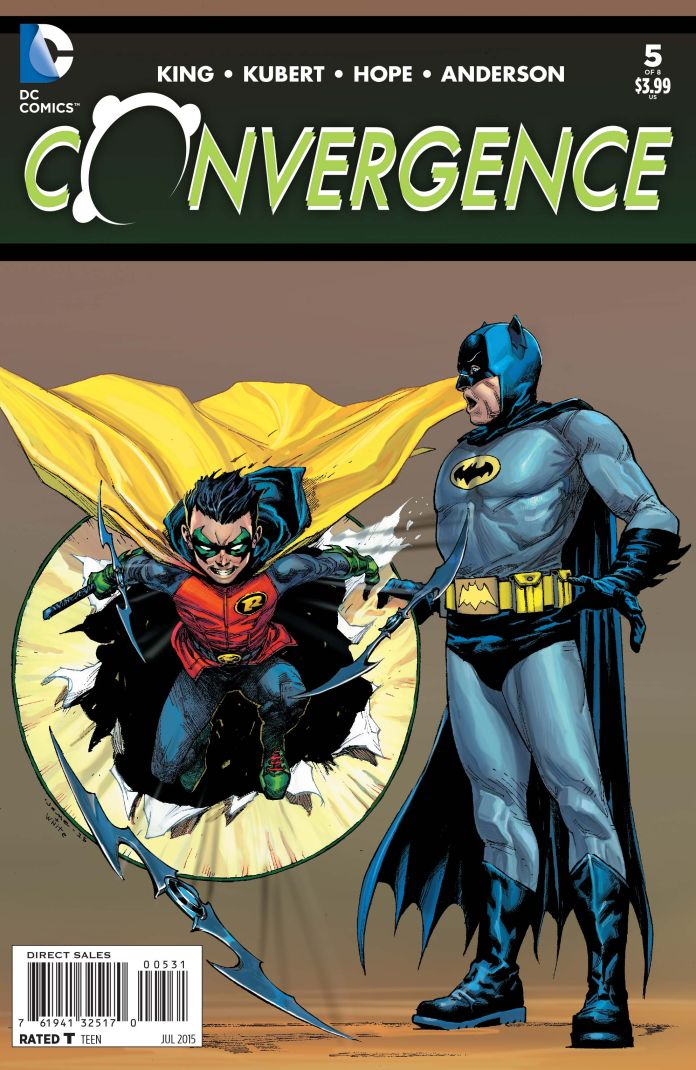 Convergence 5 Variant Jerome Opena with Dean White