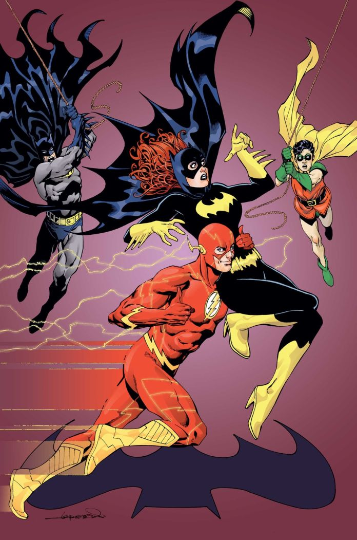 Batgirl Flash Variant