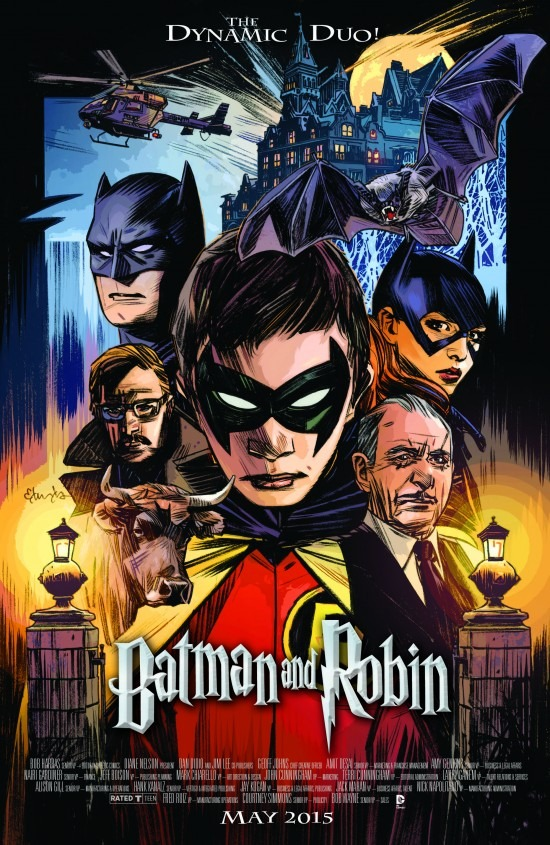 Batman & Robin Movie Variant