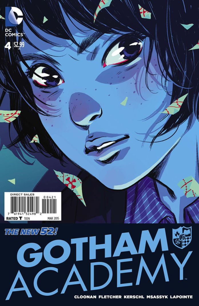 Gotham Academy 4 by Becky Cloonan