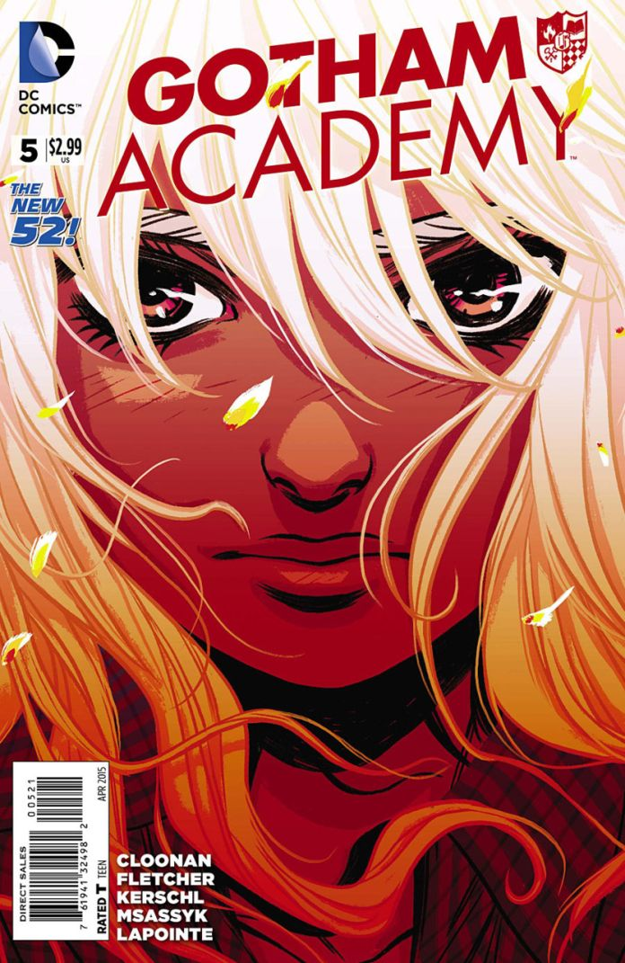 Gotham Academy 5 by Becky Cloonan