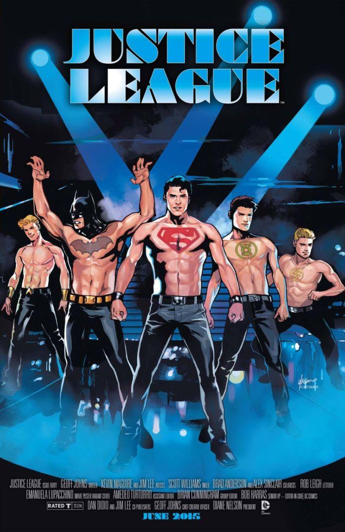 Justice League Movie Variant