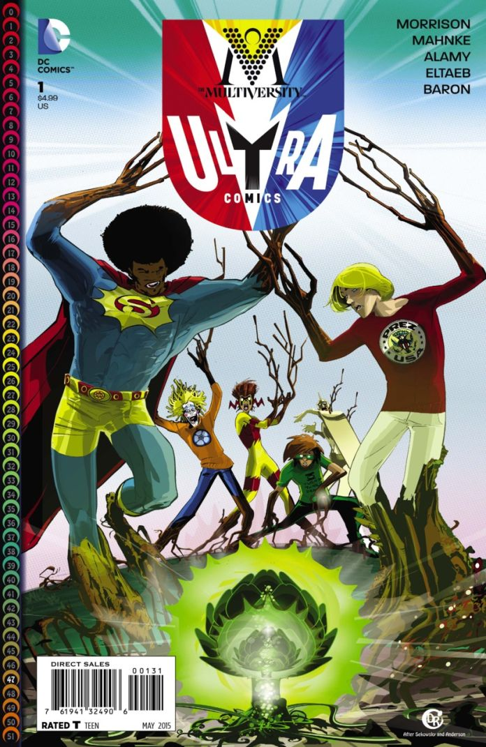 Multiversity Ultra Comics by Duncan Rouleau