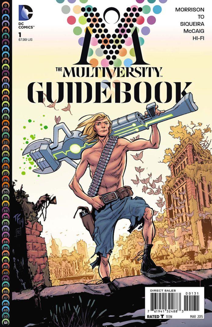Mutiversity Guidebook by Tom Fowler