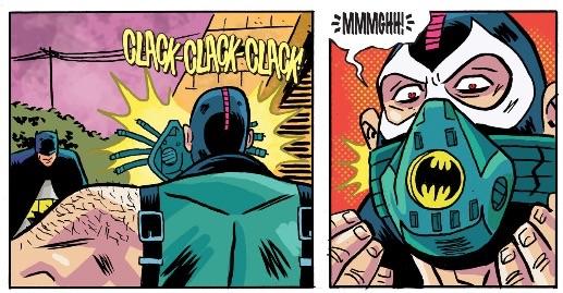 """""""Murf duh furn uh griffle de Gufum, Bitmin."""" -Bane"""