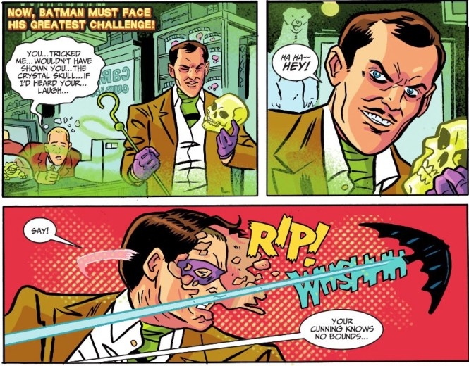 This is probably as close as we'll get to a likeness of John Astin's take in these pages.