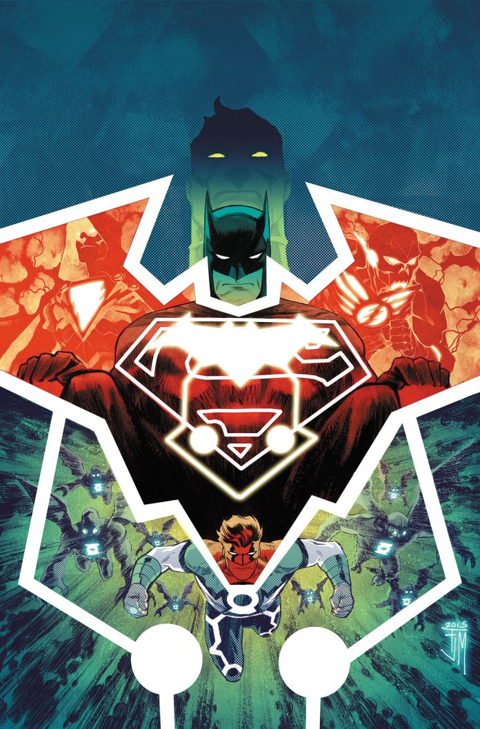 JL Gods and Men - Batman 1