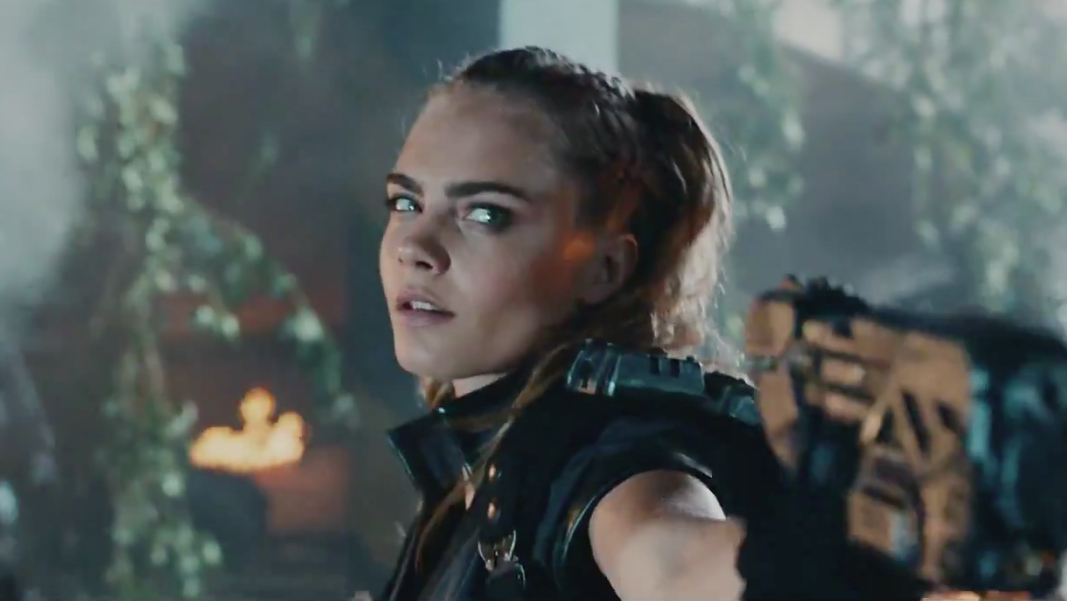 Suicide Squad Star Cara Delevingne Steals The Show In Call Of