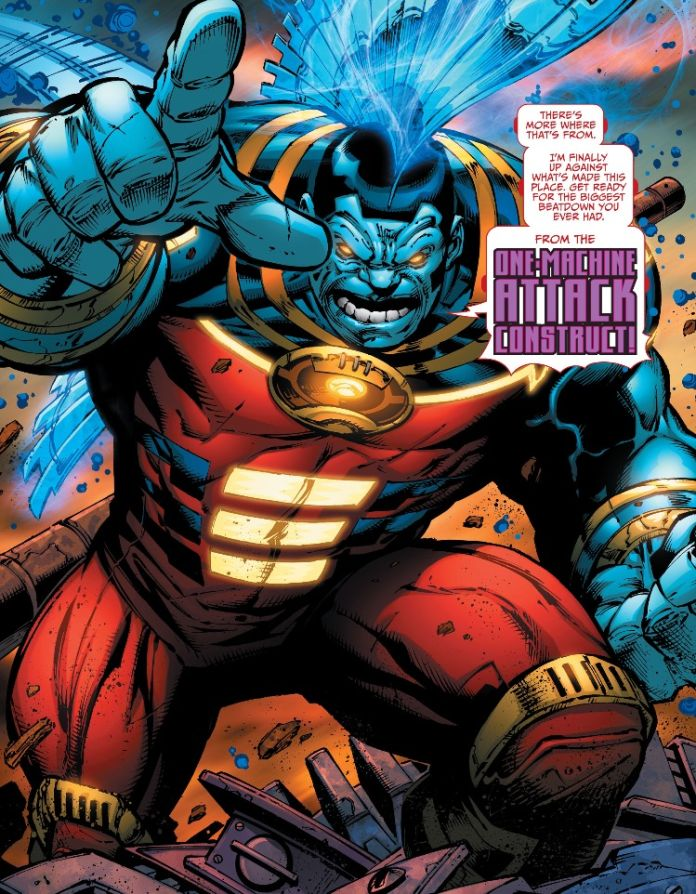 """Things went from """"this ain't too bad"""" to """"Holy crap it's OMAC""""!"""