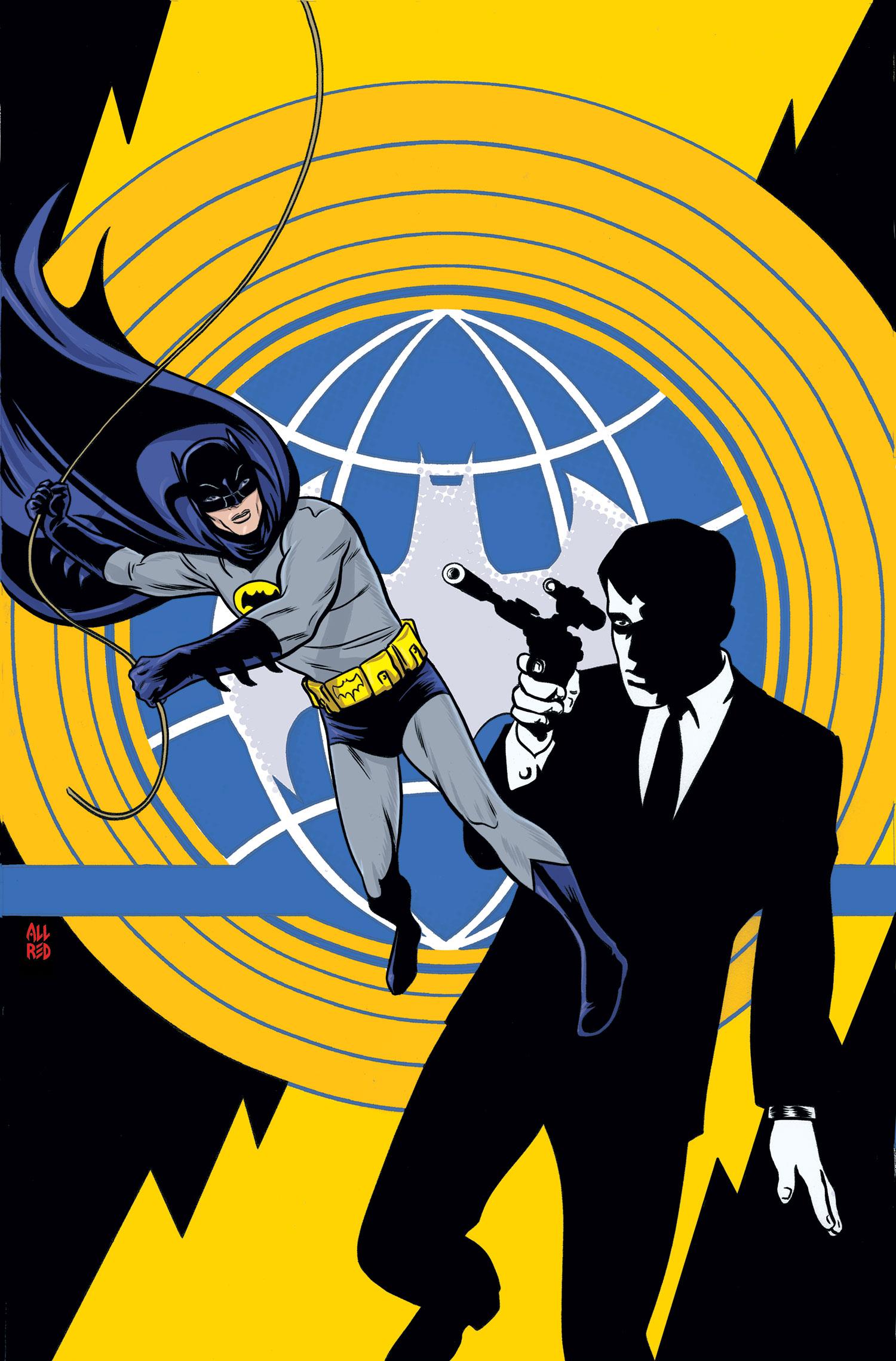 Batman 66 Meets the Man From U.N.C.L.E.