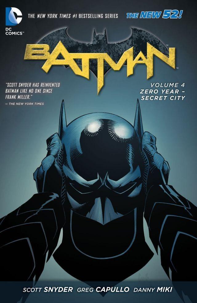 Batman Zero Year Secret City