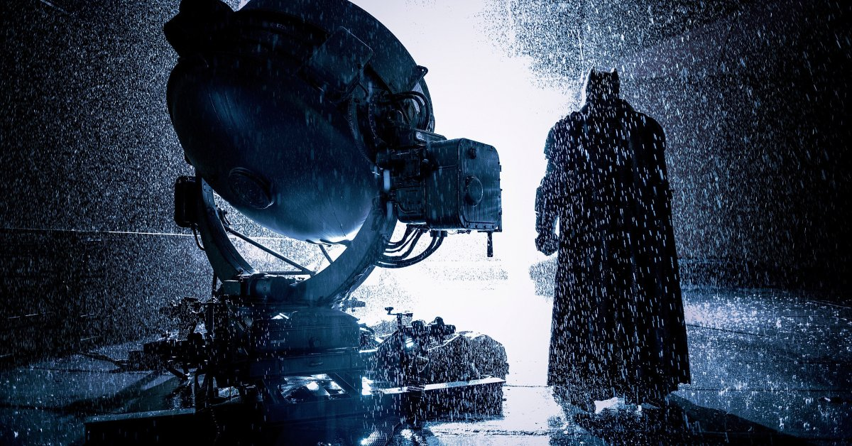 This Batman V Superman Photo Will Be Your New Desktop