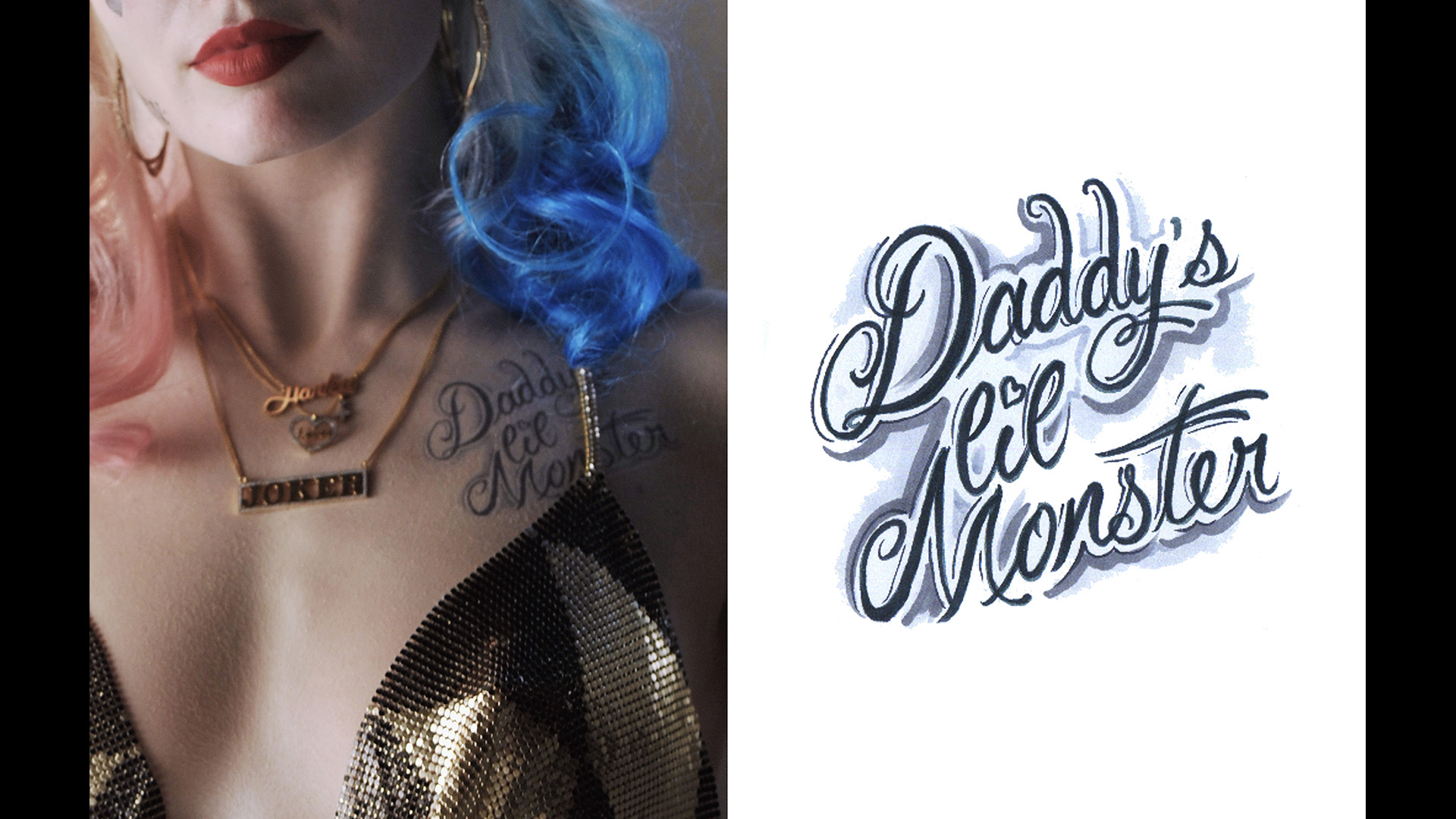 Get A Detailed Look At Margot Robbies Harley Quinn Tattoos For