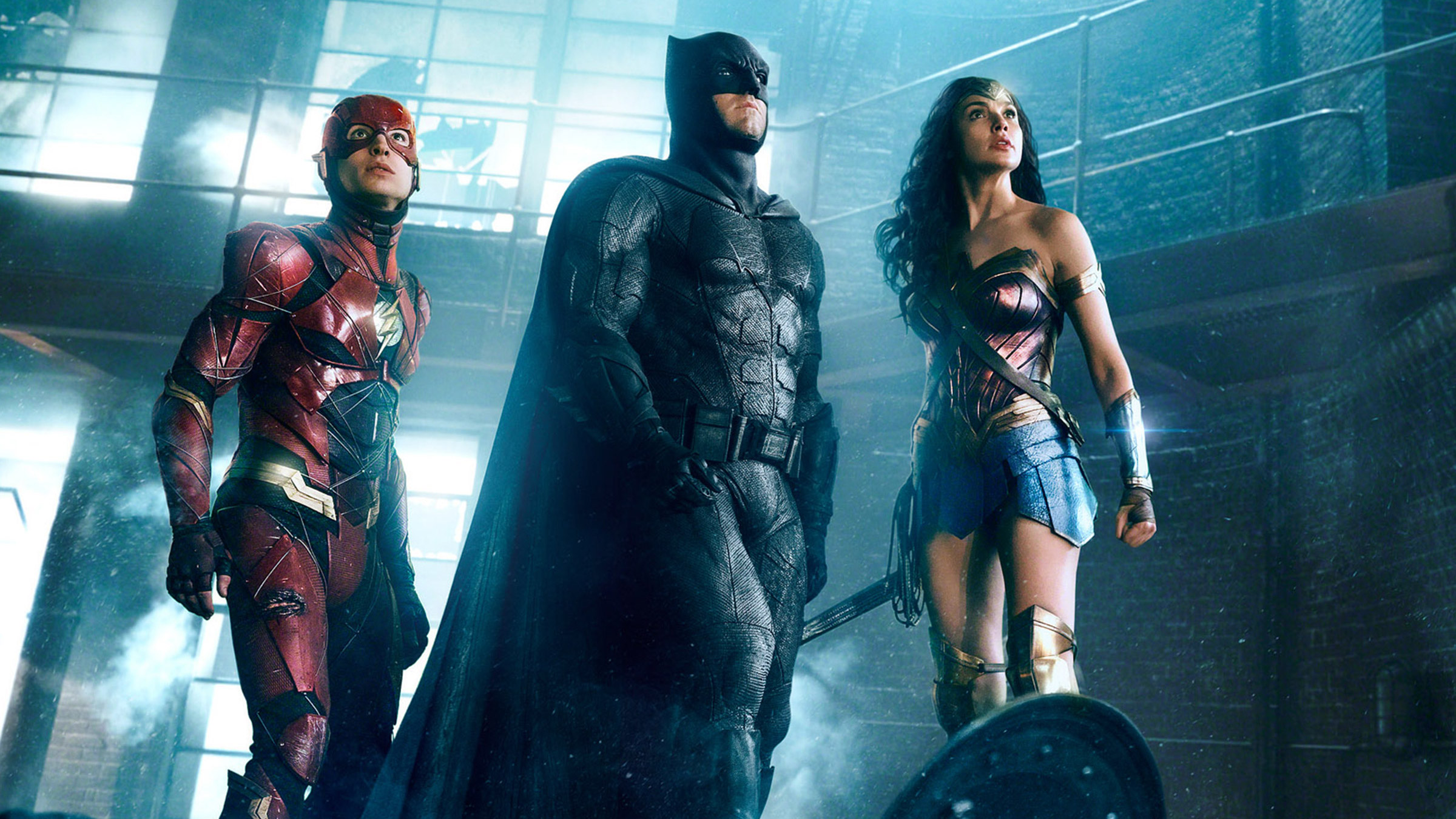 Justice League Batman, Wonder Woman, Flash
