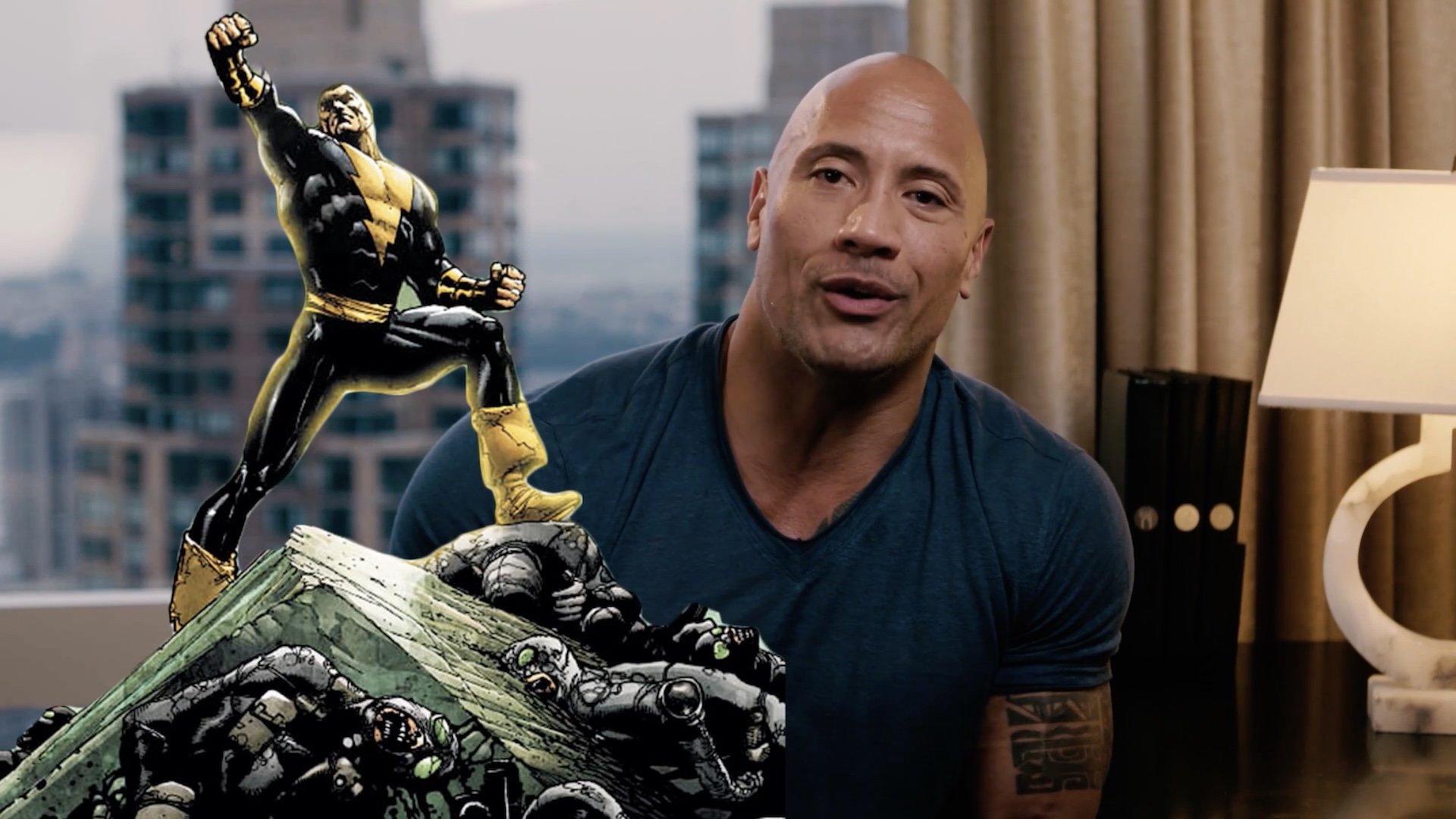 Dwayne Johnson Says Black Adam Is 'In My Bones'; Confirms Writer