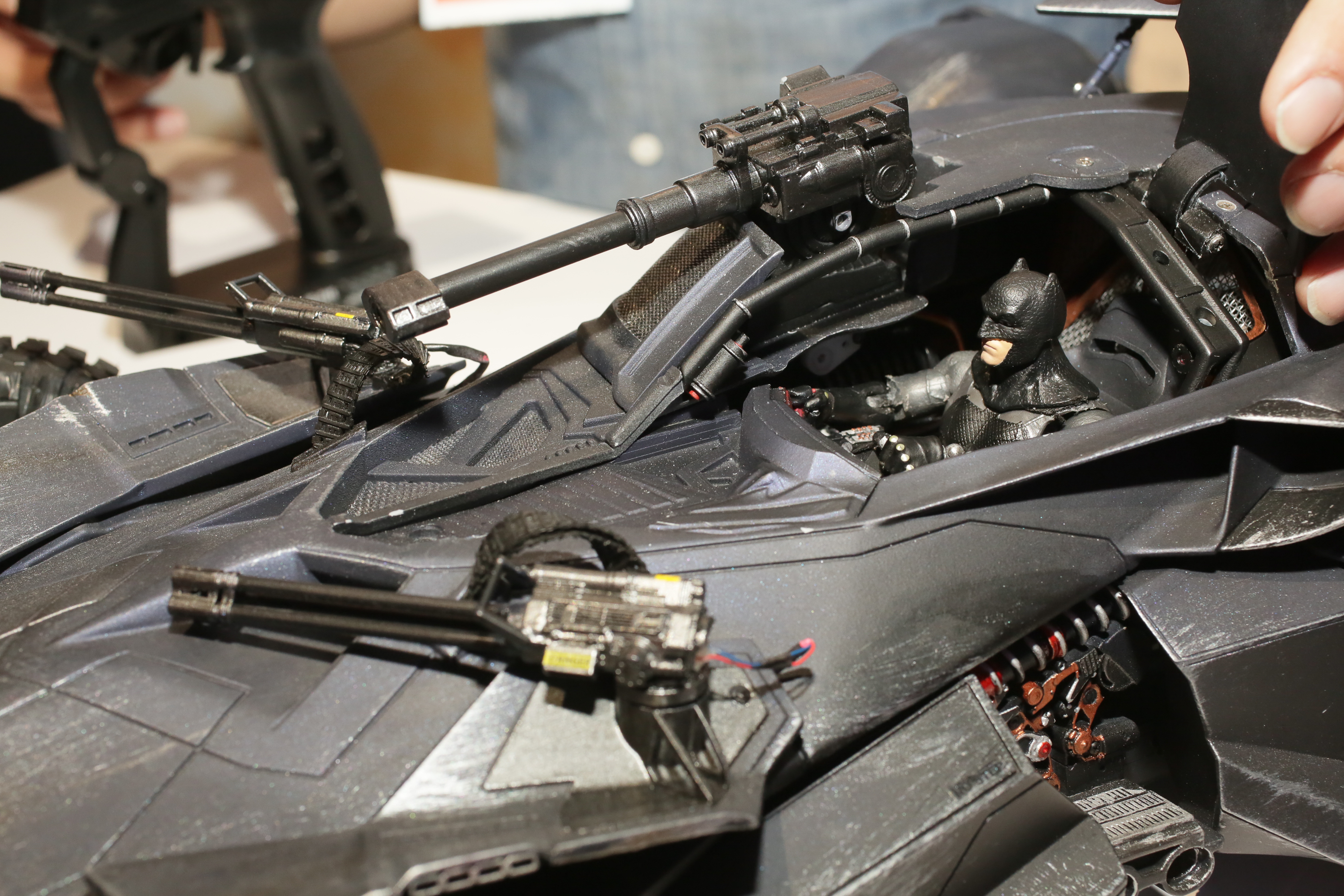 Get A Detailed Look At The Batmobile In Justice League From