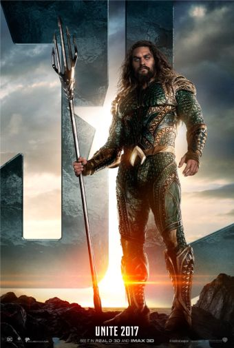 Aquaman Justice League Character Poster HD