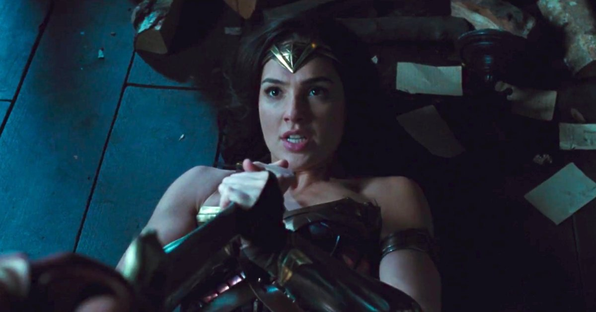 Wonder Woman Fight Scene