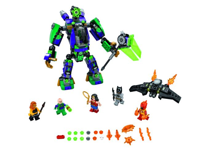 76097_Lex Luther Mech Takedown