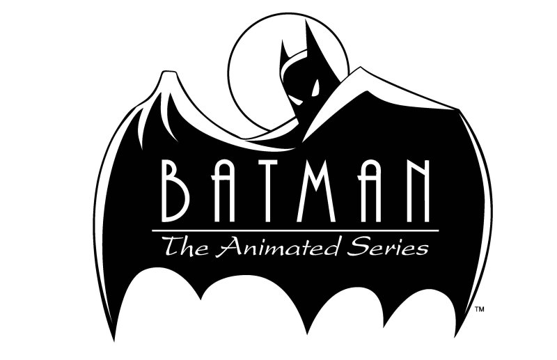Ranking EVERY Episode Of Batman The Animated Series Page Of - Superhero logos turned into oddly satisfying line animations