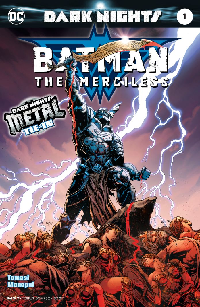 Capa de Batman: The Merciless por Jason Fabok.