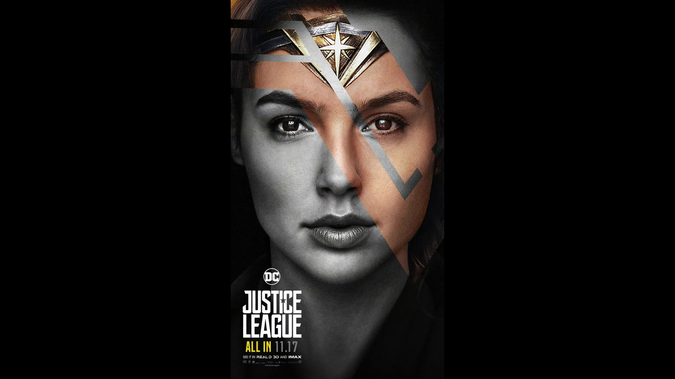 Wonder Woman Motion Poster Justice League