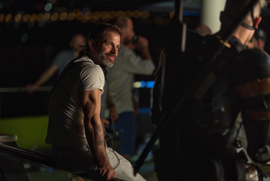 Zack Snyder Joe Mananiello Deathstroke Justice League
