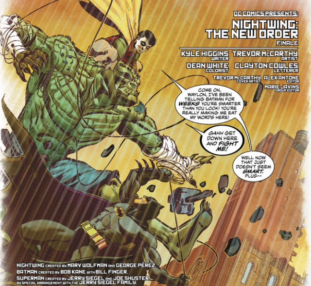 Nightwing The New Order 6 Review Batman News New order's who's joe from the album waiting for the siren's call. nightwing the new order 6 review