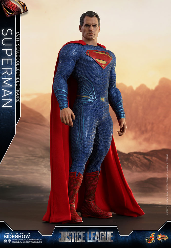 Hot Toys Justice League Superman figure is based on Zack