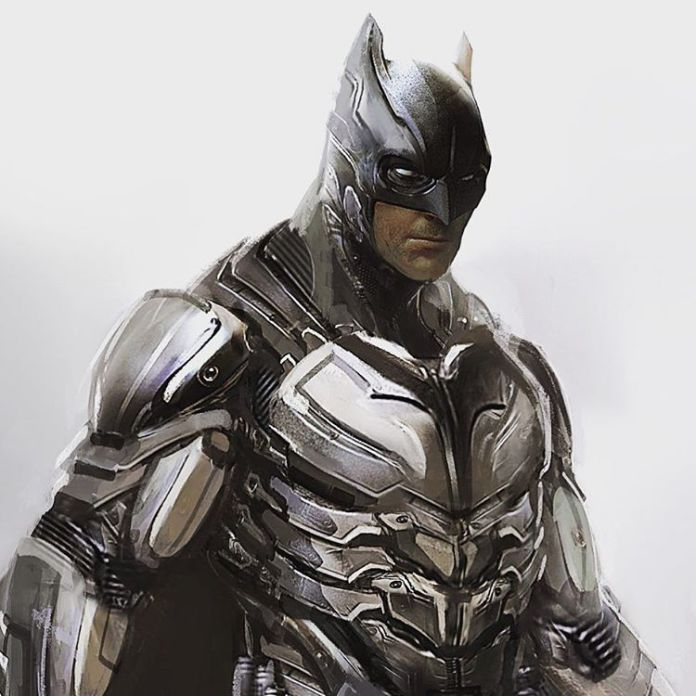 Batman V Superman Concept Art Reveals Hi Tech Batsuit That Was Scrapped For The Classic Look