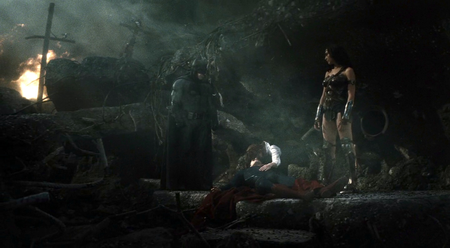 Superman Dead Batman v Superman