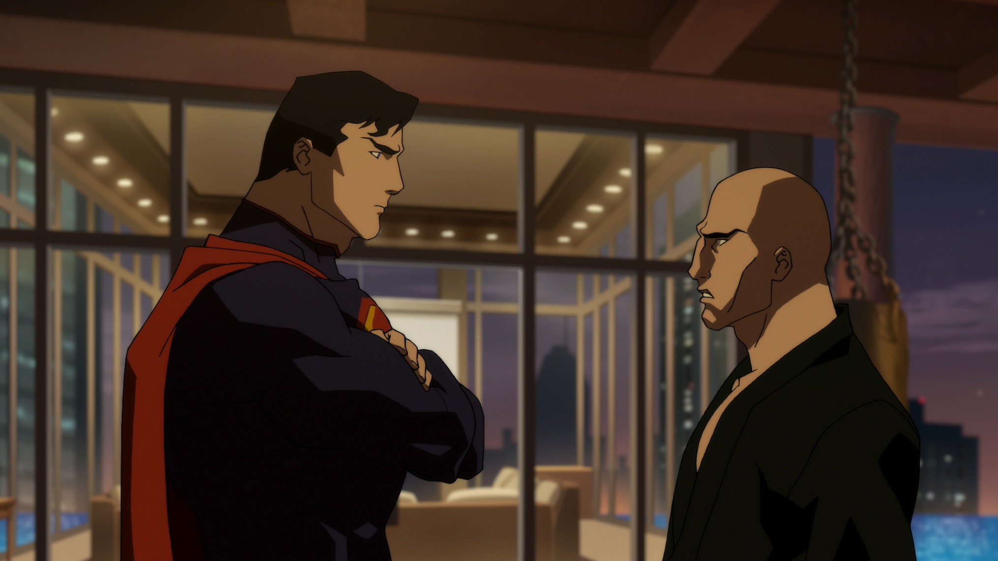 Resultado de imagem para the death of superman justice league lex luthor