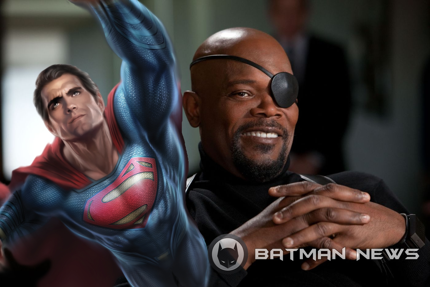 Superman Nick Fury