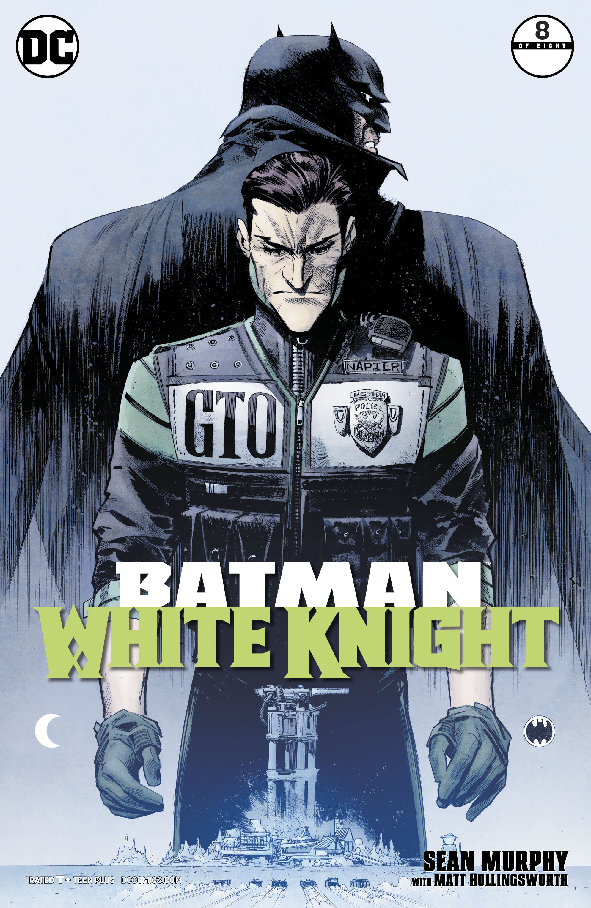 Image result for batman: white knight 8